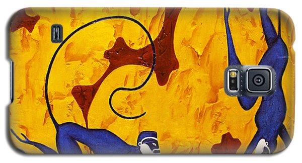 Blue Monkeys No. 45 Galaxy S5 Case