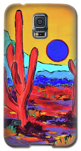 Blue Moon Galaxy S5 Case by Jeanette French