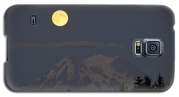 Blue Moon - Mount Rainier Galaxy S5 Case by Sean Griffin