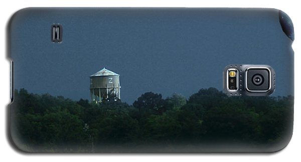 Blue Moon Over Zanesville Water Tower Galaxy S5 Case