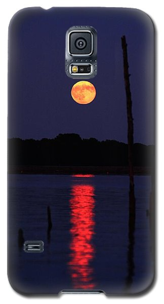 Blue Moon Galaxy S5 Case by Raymond Salani III