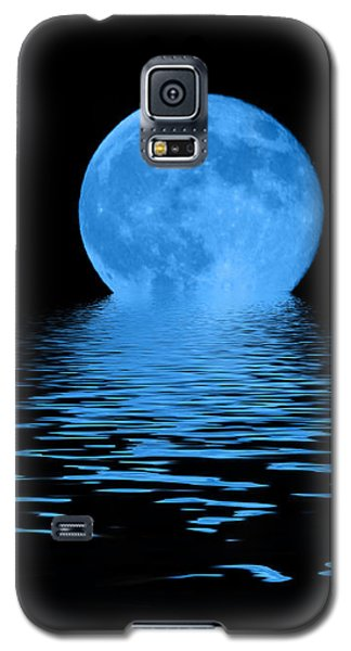 Blue Moon Galaxy S5 Case by Shane Bechler