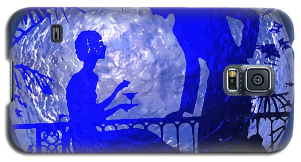 Blue Moonlight Lovers Galaxy S5 Case