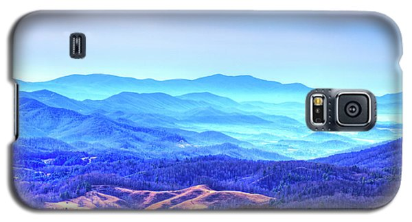 Blue Mountain Mist Galaxy S5 Case
