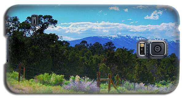 Blue Mountain West Galaxy S5 Case