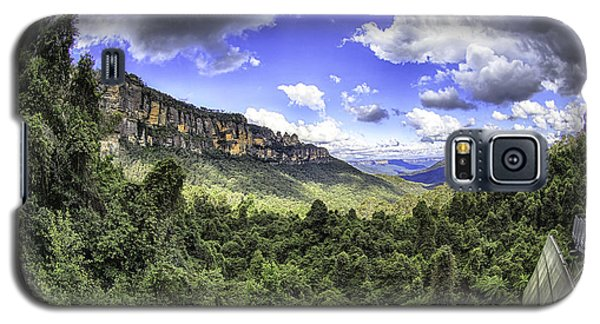 Blue Mountains Fisheye Galaxy S5 Case