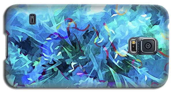Blue Movement Galaxy S5 Case