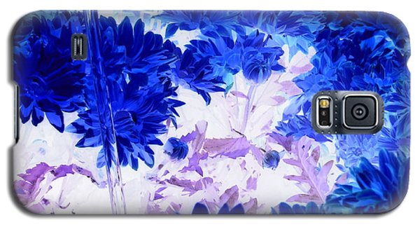 Blue Mums And Water Galaxy S5 Case