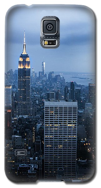 Blue New York Galaxy S5 Case