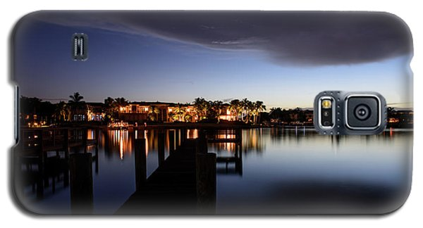 Galaxy S5 Case featuring the photograph Blue Night by Laura Fasulo