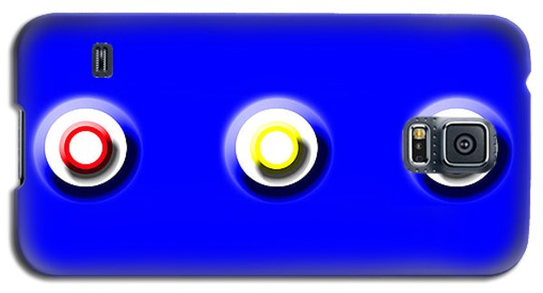 Blue Nine Squared Galaxy S5 Case