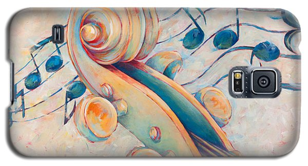 Blue Notes Galaxy S5 Case by Susanne Clark
