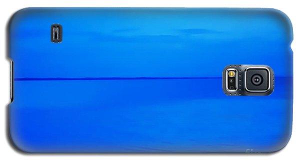 Blue Ocean Twilight Galaxy S5 Case by Randy Steele