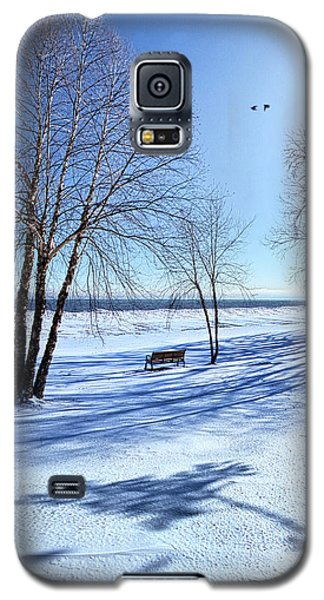 Galaxy S5 Case featuring the photograph Blue On Blue by Phil Koch