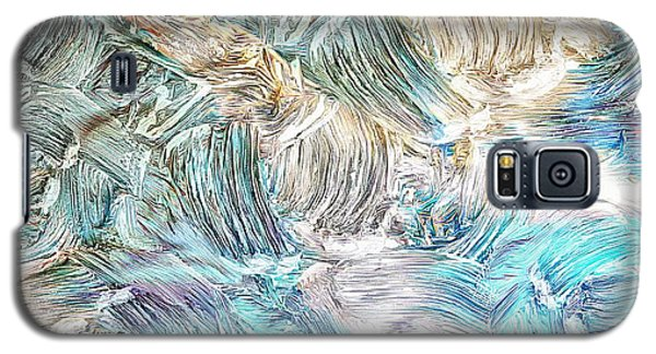 Galaxy S5 Case featuring the photograph Blue Palette by Athala Carole Bruckner