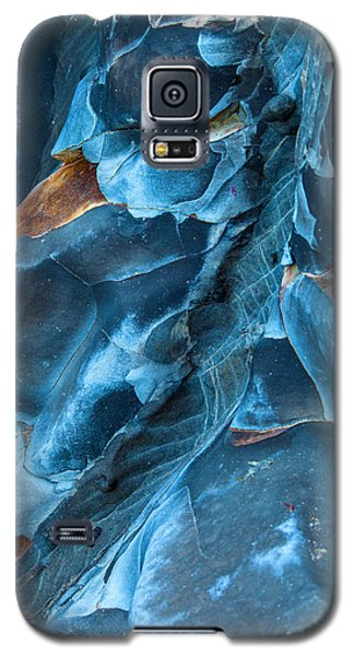 Landscapes Galaxy S5 Case - Blue Pattern 1 by Jonathan Nguyen