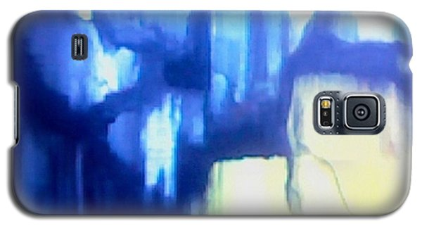 Blue Patterns Galaxy S5 Case