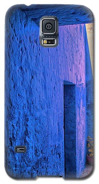 Blue Peru Galaxy S5 Case