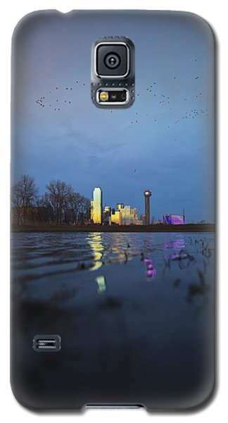 Blue Galaxy S5 Case