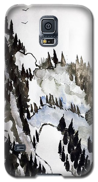 Blue Pine Ridge Galaxy S5 Case