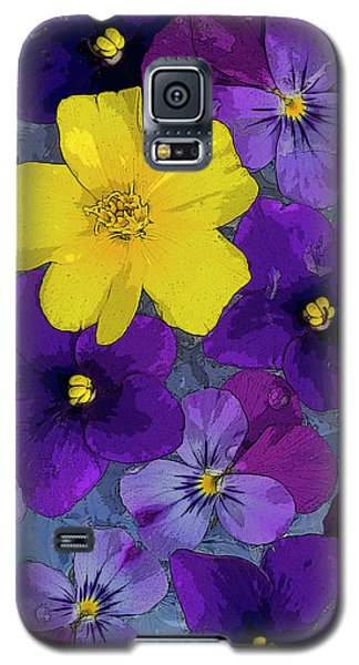 Fairy Galaxy S5 Case - Blue Pond by JQ Licensing