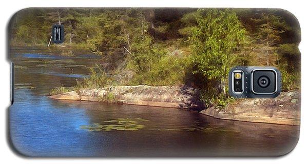 Blue Pond Marsh Galaxy S5 Case