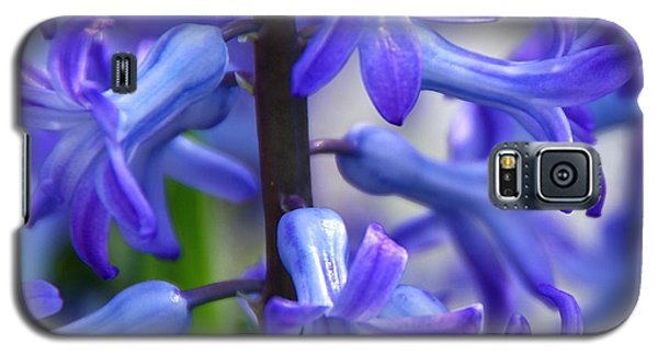 Galaxy S5 Case featuring the photograph Blue Rhapsody by Byron Varvarigos