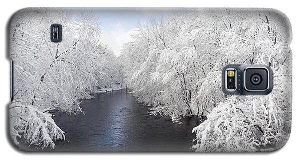 Blue Ribbon River Galaxy S5 Case