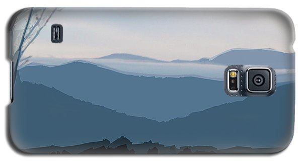 Blue Ridge Above The Clouds Galaxy S5 Case
