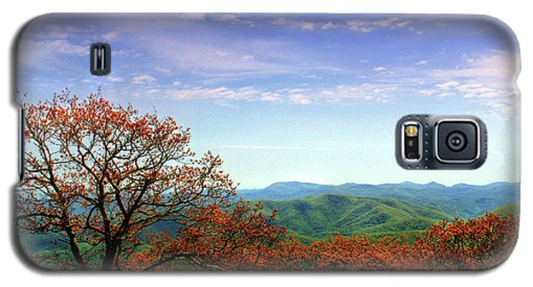 Galaxy S5 Case featuring the photograph Blue Ridge Blessing by Jessica Brawley