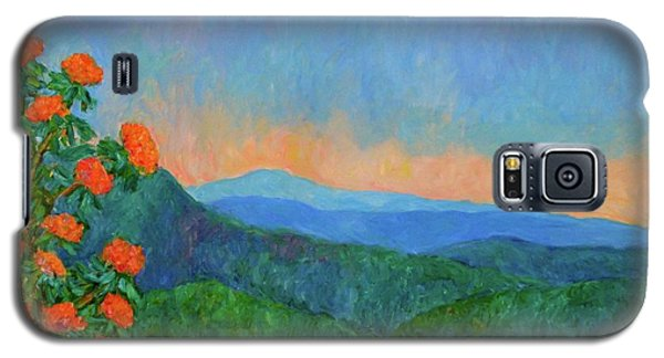 Blue Ridge Morning Galaxy S5 Case