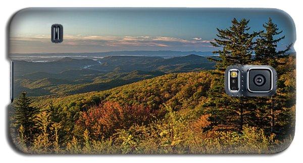 Blue Ridge Mountain Autumn Vista Galaxy S5 Case