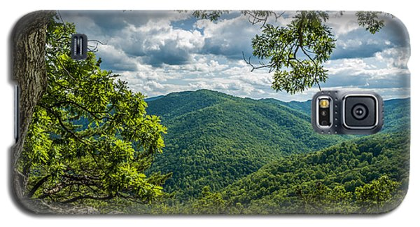 Blue Ridge Mountain View Galaxy S5 Case