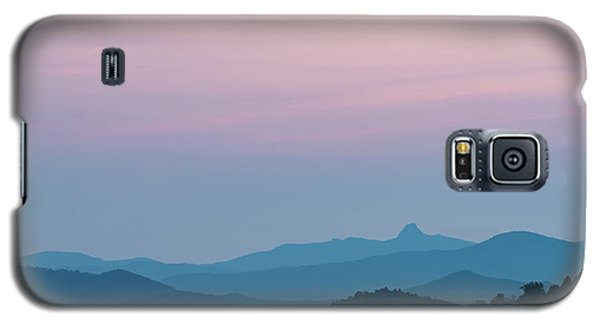 Blue Ridge Mountains After Sunset Galaxy S5 Case