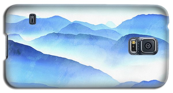 Galaxy S5 Case - Blue Ridge Mountains by Edward Fielding