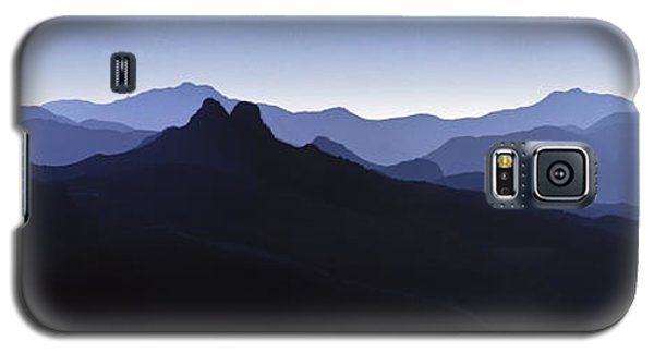 Galaxy S5 Case featuring the photograph Blue Ridge Mountains. Pacific Crest Trail by David Zanzinger