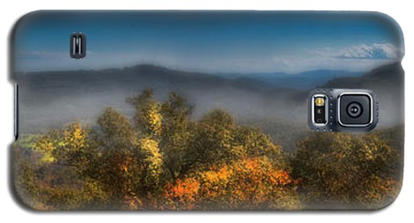 Galaxy S5 Case featuring the photograph Blue Ridge Panorama by Ellen Heaverlo