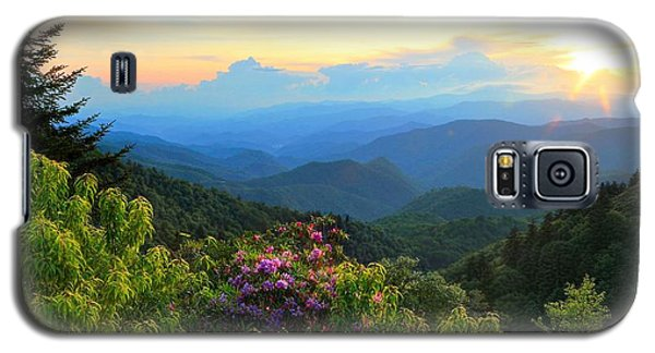Blue Ridge Parkway And Rhododendron  Galaxy S5 Case