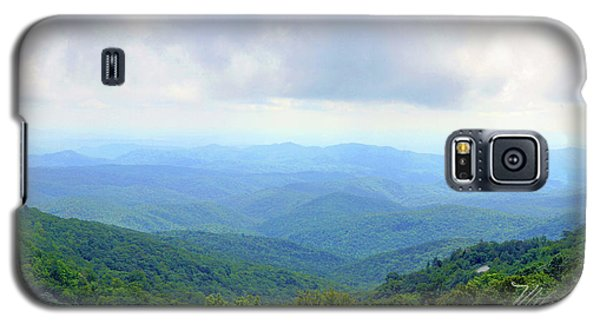 Galaxy S5 Case featuring the photograph Blue Ridge Parkway Overlook by Meta Gatschenberger