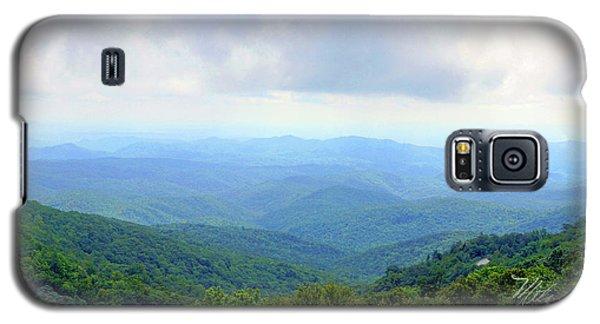 Blue Ridge Parkway Overlook Galaxy S5 Case by Meta Gatschenberger