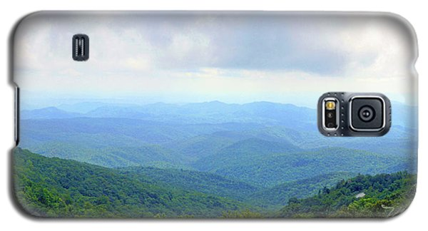 Blue Ridge Parkway Overlook Galaxy S5 Case