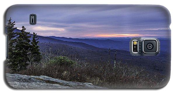 Blue Ridge Parkway Sunrise Galaxy S5 Case