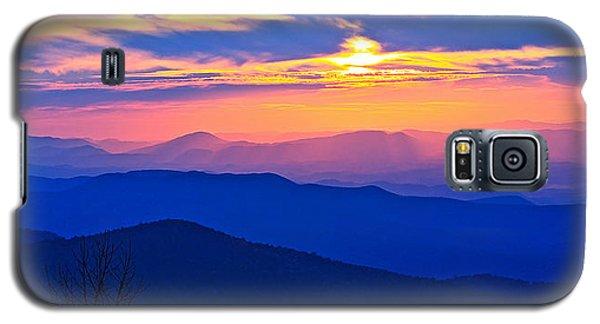 Blue Ridge Parkway Sunset, Va Galaxy S5 Case