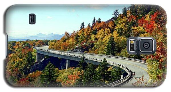 Blue Ridge Parkway Viaduct Galaxy S5 Case by Meta Gatschenberger