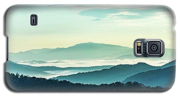 Blue Ridge Pastel Galaxy S5 Case