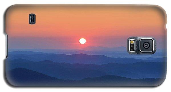 Blue Ridge Sunrise Galaxy S5 Case