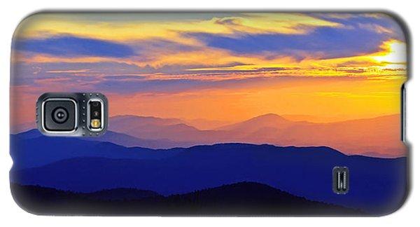 Blue Ridge Sunset, Virginia Galaxy S5 Case