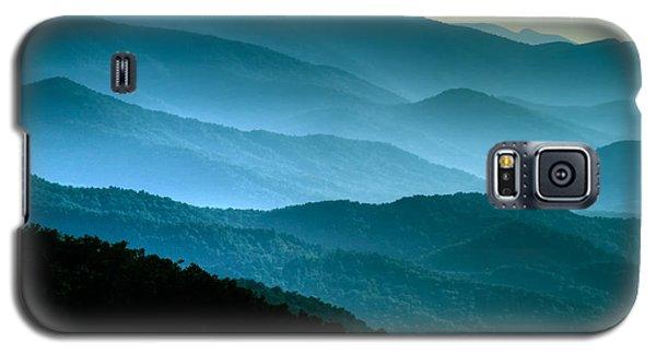 Blue Ridges Galaxy S5 Case