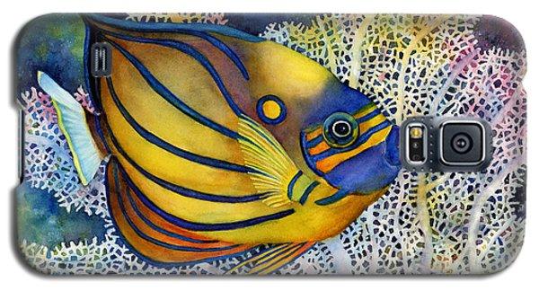 Blue Ring Angelfish Galaxy S5 Case