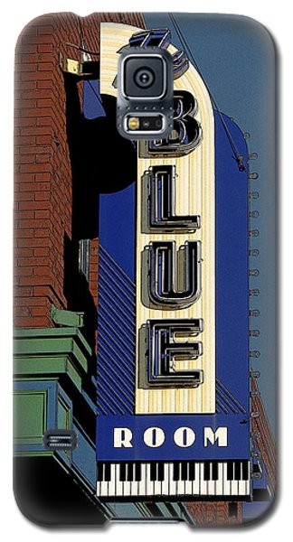 Galaxy S5 Case featuring the photograph Blue Room by Jim Mathis